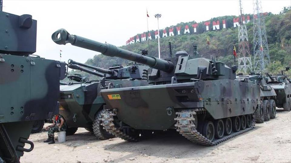 Menhan Malaysia Minati Medium Tank Pindad